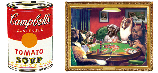 Dogs Playing Poker-tomato soup