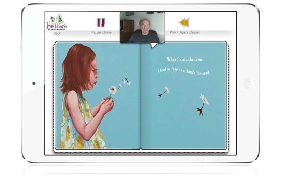 Alison Sansone's Dad Reads-When-I-Visit-the-Farm